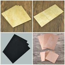 Copper/Brass/ABS Sheet Thin Sheet Metalwork Foil Panel DIY Craft Board Plate