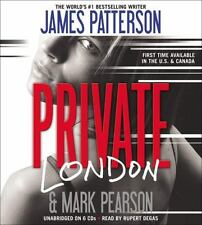 Private London by James Patterson and Mark Pearson (2012, CD, Unabridged)