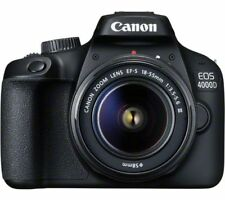 CANON EOS 4000D DSLR Camera with EF-S 18-55 mm f/3.5-5.6 III Lens Fast postage