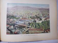 GEORGIE/Gravure 19°in folio couleur/ Tifflis: vue générale  rive gauche du Koura