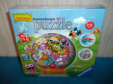 MOSHI MONSTERS - RAVENSBURGER 3D JIGSAW PUZZLE - 72 PIECES - NEW & SEALED