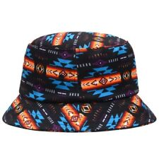 New Black Bucket Hat Adult Southwest Aztec Summer Shade Outdoor Fishing One Size