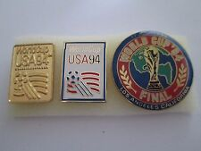 b1 lotto 3 spille USA 1994 FIFA WORLD CUP football calcio pins lot 94
