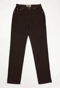 Swiss jeans donna usato vita alta w32 tg 46 affusolata carota boyfriend T3728