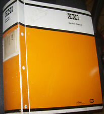 A Tenneco Company CASE W7 Series - E Loader SERVICE MANUAL               Lot #30