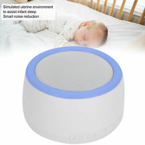 Rechargeable Sleep Sound Device Timing White Noise Machine Portable Sleeping Aid