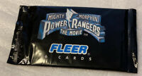 1995 Fleer - Mighty Morphin POWER RANGERS: THE MOVIE - Unopened Cello Pack VER 1