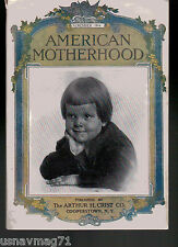 American Motherhood, November 1914, Topical Articles, Period Ads, Fiction