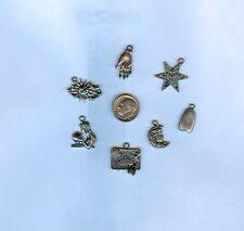 Fortune Teller Themed Charm Set ` Ouija Board *  for Making Bracelet Jewelry