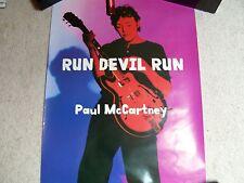 Paul McCartney - Run Devil Run Promo Poster Beatles