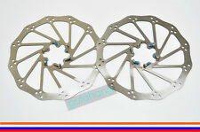 AVID Polygon MTB Bike Mountain Bicycle IS 6-Bolt Disc Brake Rotor 185mm -Pair