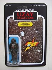 VINTAGE STAR WARS TIE FIGHTER PILOT CUSTOM UZAY SAVASCILARI BOOTLEG MOC