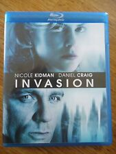 BLU-RAY ** INVASION ** DANIEL CRAIG NICOLE KIDMAN SCIENCE-FICTION