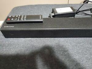 Samsung sound bar with remote no sub wofer