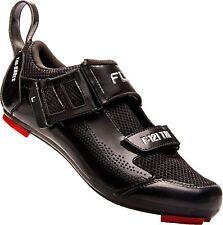 FLR F-121 Triathlon Shoe in Black - Size 47 Mountain and Road Bike Cycling