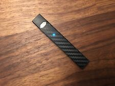 Black Carbon Fiber Vinyl Wrap Skin Decal for JUUL - 2 Pack - Free Shipping