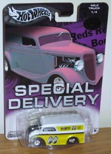 Hot Wheels Special Delivery Moon Eyes Milk Truck Limited Edition 1 of 20,000