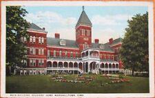 Marshalltown, IA 1930 Postcard: Soldiers' Home Main Building - Iowa