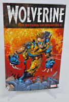 Wolverine The Return of Weapon X 159 160 Marvel Comics TPB Trade Paperback New