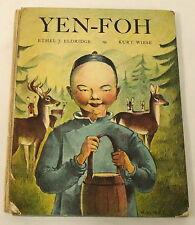 1935 YEN-FOH, CHINESE BOY ~ Junior Press book ~ Kurt WIESE