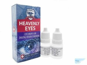 Ethos Heavenly Eye Drops for Computer and Vision Syndrome Improvement 2 x 5ml