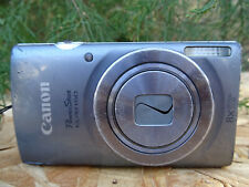 Canon PowerShot ELPH 160 / IXUS 160 20.0MP Digital Camera - Silver FOR REPAIR AS