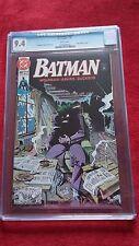 BATMAN #450 CGC 9.4 / BRIEF ORIGIN OF JOKER / APARO / DC COMICS