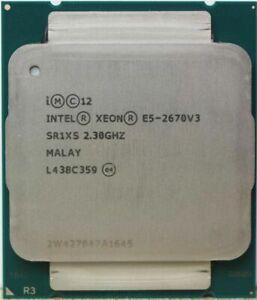 Intel Xeon E5-2670 V3 12-Core 2.3GHz Processor SR1XS *Pulled*