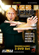 Mr. Mook Jong A Martial Artists User's Guide to the Wooden Dummy (3 Dvd)