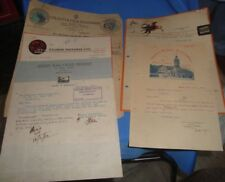5 Old Vintage Correspondence Letters of Indian Films Productions From India1934