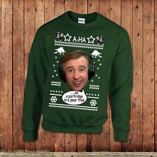 Alan Partridge Christmas Jumper, cheesy xmas sweater, monkey tennis.