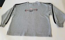 Dale Earnhardt #3 Chase Authentics Pullover Long Sleeve Shirt Gray Size Large