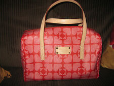 KATE SPADE KALEIGH PEBBLED ACE OF SPADES SQUARE HANDBAG PURSE SATCHEL NEW $245