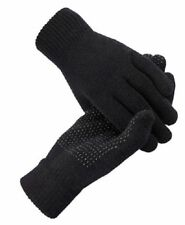 Magic GLOVES With Grip Adult Unisex Black THERMAL MAGIC WINTER GLOVES Fit All