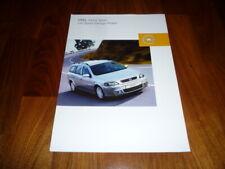 Opel Astra SPORT DESIGN PAKET Prospekt 02/2003