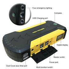 Multi Function Car Jump Starter Battery Booster Power Bank Rescue Kit 88000mAh