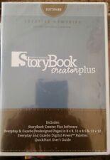 Creative Memories Story Book Creator Plus Sealed * Nib * Software