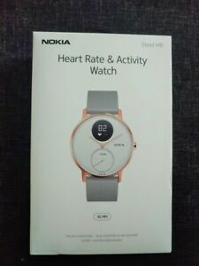 BNIB Limited Edition Rose Gold ***Nokia Steel HR 36mm Watch - WWPost Available