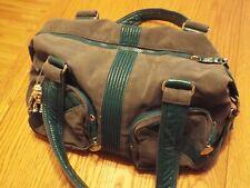 Kipling Katie Faux Suede Leather Shoulder Travel Hand Bag  Robot Monkey (D)