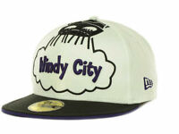 Chicago Bulls Windy City New Era 59Fifty Fitted NBA Basketball Cap Hat