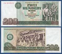 DDR 1985  200 Mark  KASSENFRISCH Serie ZA  Ros.364 b