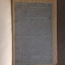 A. SILVESTRE /CONTE DE L'ARCHER EO 1883 /CARAYON /+ 2 pages manuscrites signées