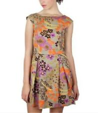 Tigerlily Dress Floral Sleeveless Fit & Flare Skater Work Evening Party Sz 8