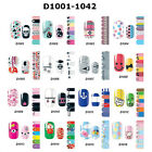 Fashion Full Self Nail Wraps Stickers Adhesive Polish Foils Decoration Art Decal