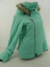 Oakley Snowboard Ski Jacket Gretchen Bleiler size M Mint Green