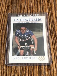 1992 Impel Lance Armstrong Rookie Card RC USA Olympics Hopefuls 1992