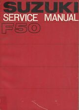1970 SUZUKI F50 SERVICE MANUAL