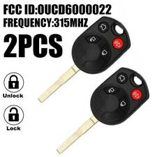 2X For 2013-2019 Ford Fiesta Escape Car Remote Keyless Entry Key Fob OUCD6000022