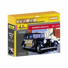 HELLER SET DE REGALO hel50704g - Heller 1:24 SET DE REGALO - Hispano Suiza
