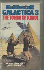 Battlestar Galactica 3 The Tombs of Kobol Novel Book 1980 printing